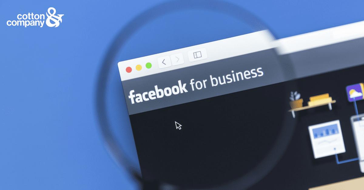 Leveraging Facebook's Algorithm Update