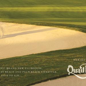Quail Ridge Traditional Print Ad