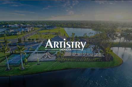Cotton & Company handles the marketing for Artistry Sarasota, a Kolter Home community