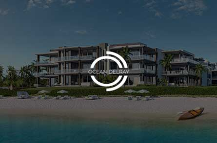 Cotton & Co. client, Ocean Delray, the first oceanfront condominium in years in Delray Beach