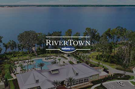 RiverTown, a new home community near Jacksonville, with marketing handled by Cotton & Company