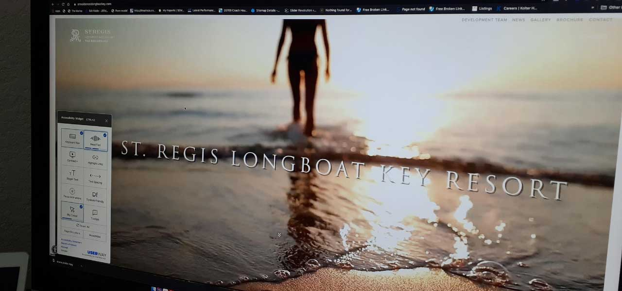 St Regis Longboat Key Website Cover