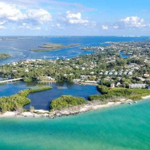 Longboat Key is only 15 minutes from Sarasota