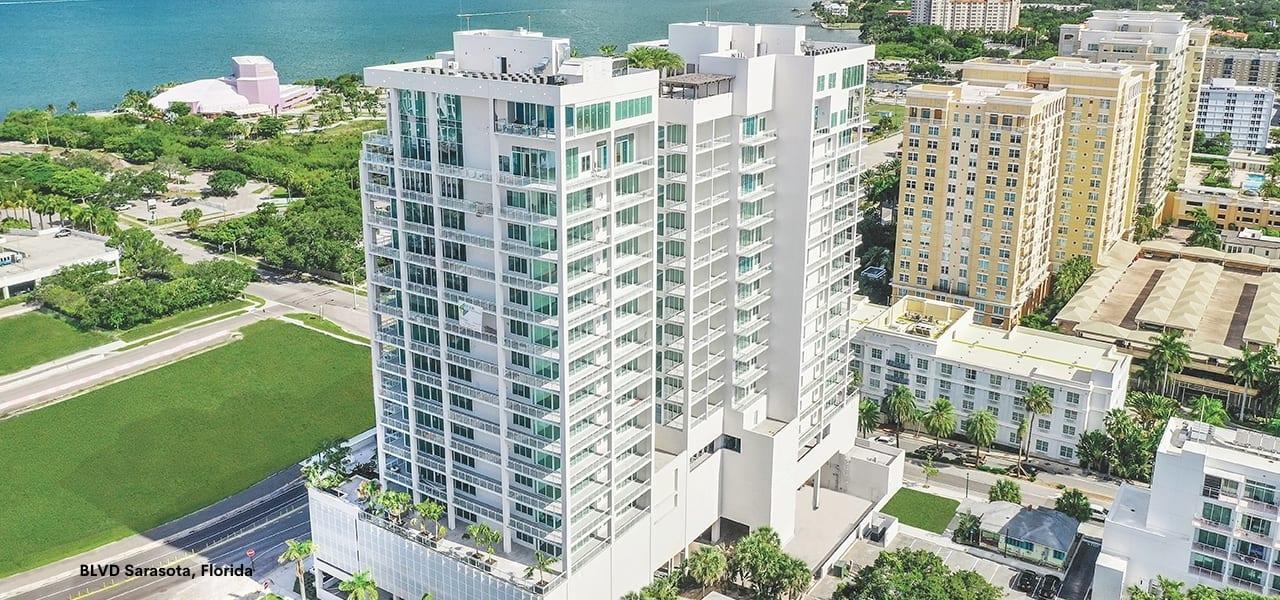BLVD Sarasota Condominium in Sarasota Florida