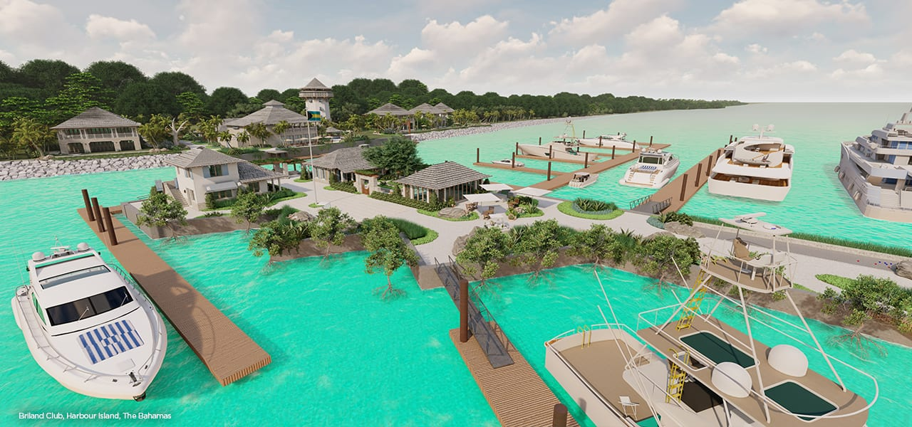 Marina Development at Briland Club