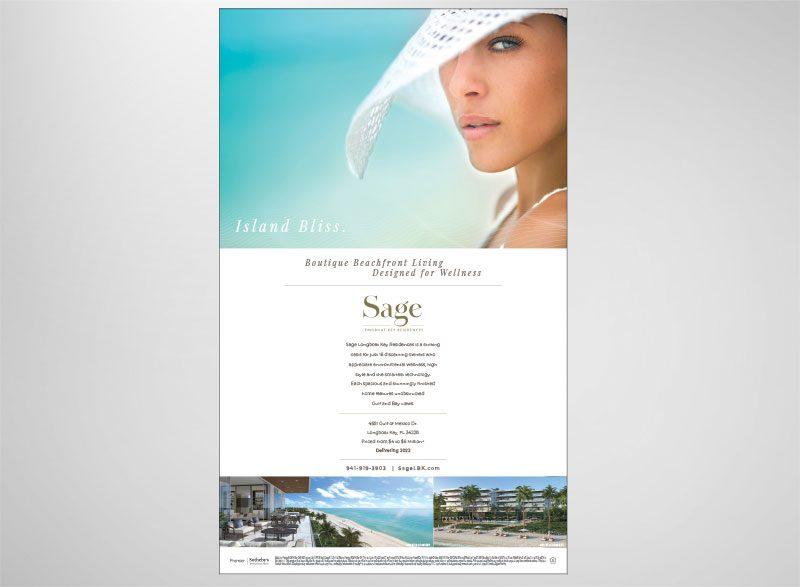 Sage Longboat Key Print Design