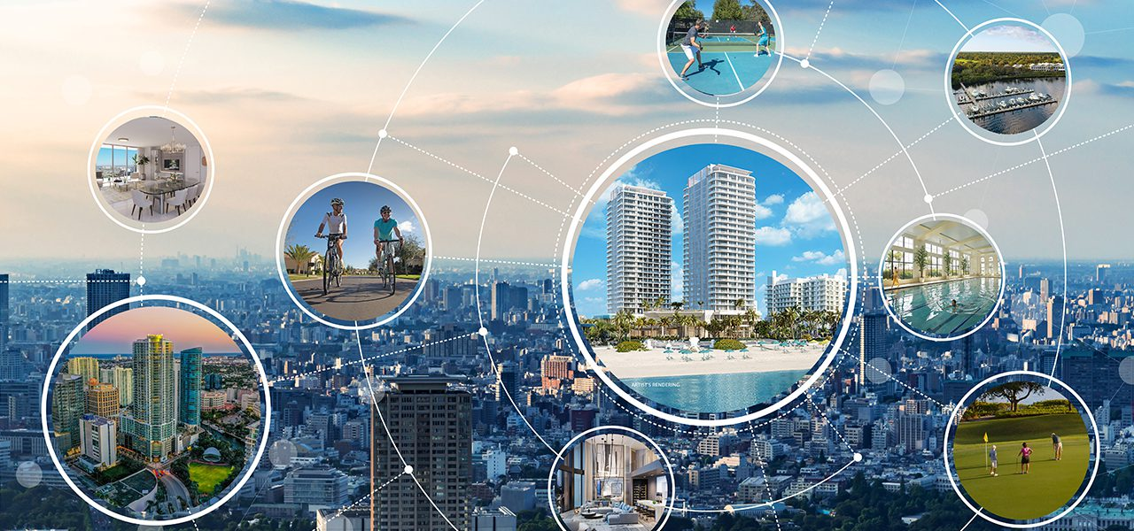 real estate marketing high rise residence